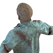 Zombie Rigged for Cinema 4D. Preview 39