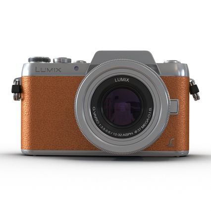 Panasonic DMC GF7 Brown. Render 15