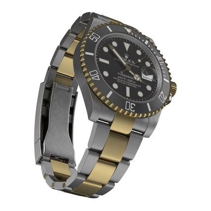 Rolex Watches Collection. Render 25