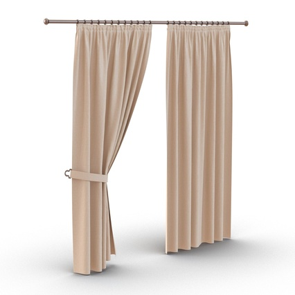 Curtains Collection. Render 19