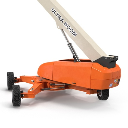 Telescopic Boom Lift Generic 4 Pose 2. Render 27