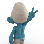 Smurf Rigged for Maya. Preview 25