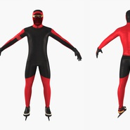 Speed Skater Suit Generic. Preview 5