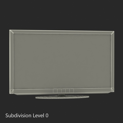 Samsung LED H5203 Series Smart TV 32 inch. Render 28