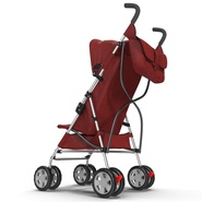 Baby Stroller Red. Preview 12