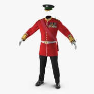 Irish Guard Sergeant Uniform