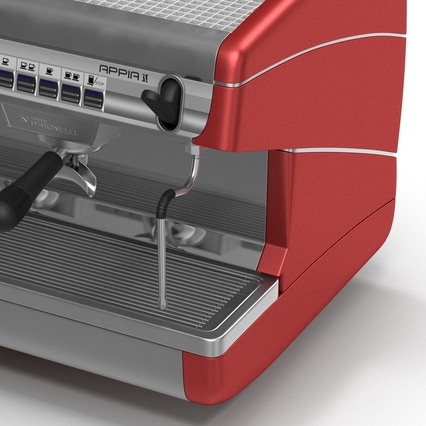 Espresso Machine Simonelli. Render 16