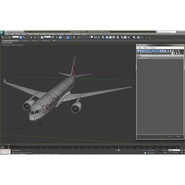 Jet Airliner Airbus A330-200 Qatar. Preview 52