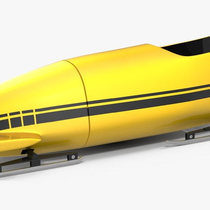 Bobsled Two Person Generic. Render 5