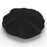 Wool Classic Beret Hat. Preview 10