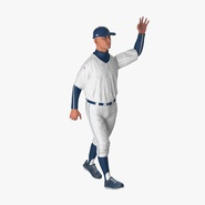 Baseball Player Rigged Generic 5