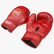 Boxing Gloves Everlast Red