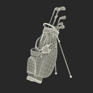 Golf Bag Seahawks with Clubs. Preview 4