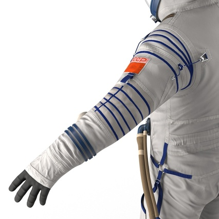Russian Space Suit Sokol KV2 Rigged. Render 44