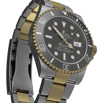 Rolex Watches Collection. Render 26