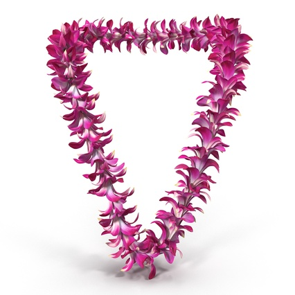 Hawaiian Leis Collection. Render 10
