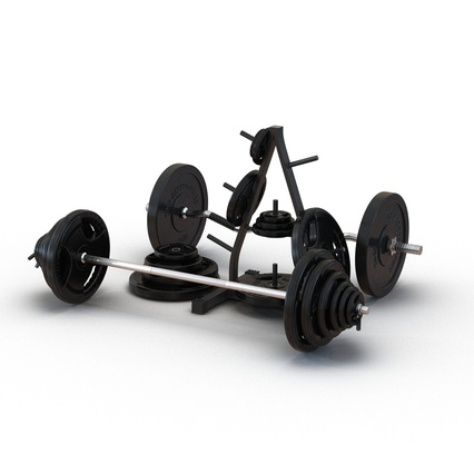 Barbells Collection 2. Render 2