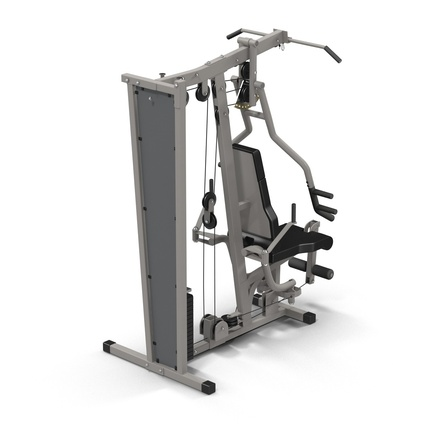 Weight Machine 2. Render 13