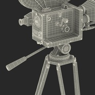 Vintage Video Camera and Tripod. Preview 46