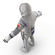 Russian Space Suit Sokol KV2 Rigged. Preview 26