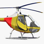 Light Helicopter Generic Rigged