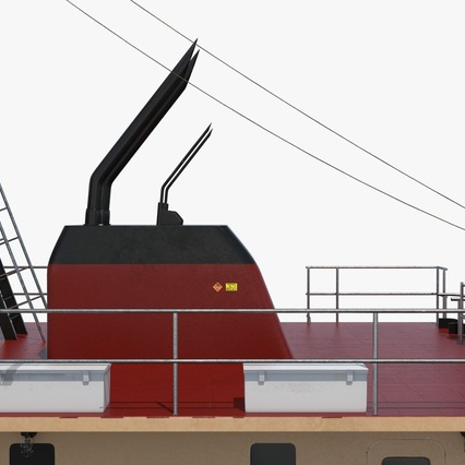 Pushboat. Render 24