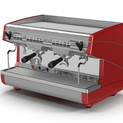 Espresso Machine Simonelli. Render 12
