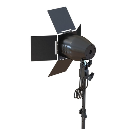 Photo Studio Lamps Collection. Render 25