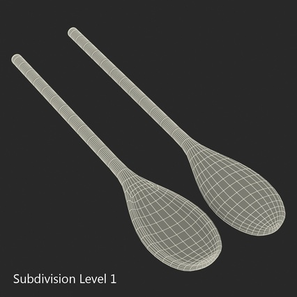 Spoons Collection. Render 43