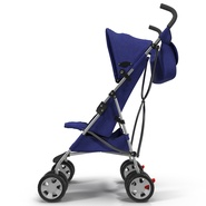Baby Stroller Blue. Preview 11