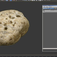 Small Sea Rock with Holes. Preview 14