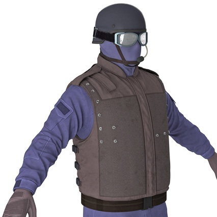 SWAT Uniform. Render 18