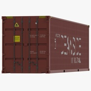 40 ft High Cube Container Red