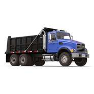 Dump Truck Mack Rigged. Preview 7