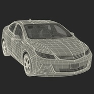 Generic Hybrid Car Rigged. Preview 75