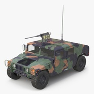 High Mobility Multipurpose Wheeled Vehicle Humvee Camo