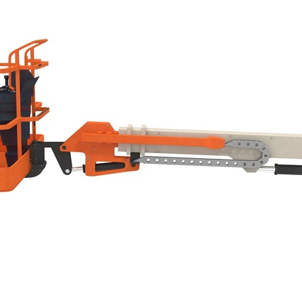 Telescopic Boom Lift Generic 4 Pose 2. Render 62