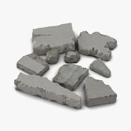 Concrete Chunks Set