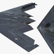 Stealth Bomber B-2 Spirit Rigged. Preview 17