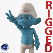 Smurf Rigged for Cinema 4D