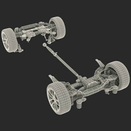 Sedan Chassis. Render 54