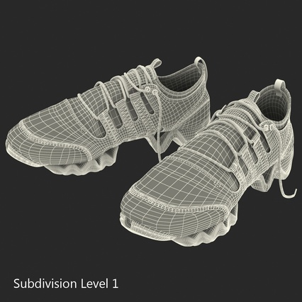Sneakers Collection 4. Render 114