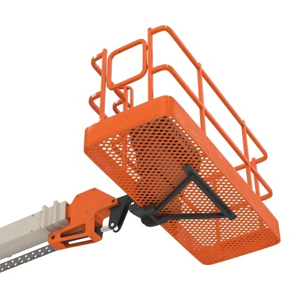 Telescopic Boom Lift Generic 4 Pose 2. Render 55