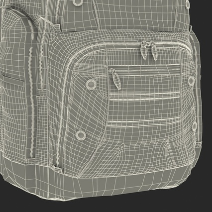 Backpack 2 Generic. Render 33