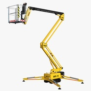 Telescopic Boom Lift Yellow