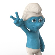 Smurf Rigged for Maya. Preview 23