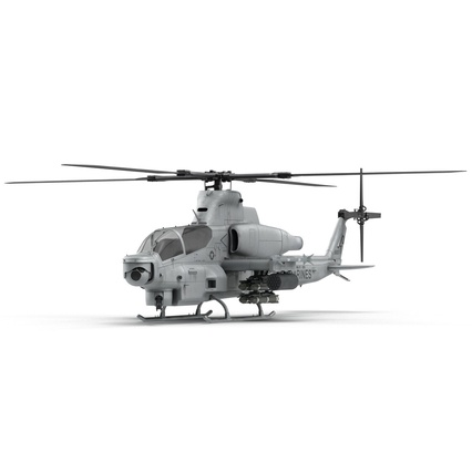 Attack Helicopter Bell AH 1Z Viper Rigged. Render 19