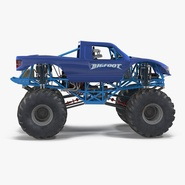 Monster Truck Bigfoot Generic Rigged
