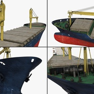 Sea Cargo Ship Generic. Preview 18