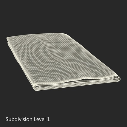 Napkins Collection. Render 30